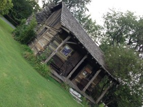 A cabin at the end of the Main Street was featured in a movie