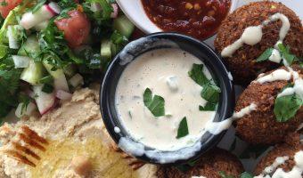 Falafel at Qana