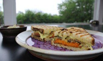 Sweet Potato Panini Love