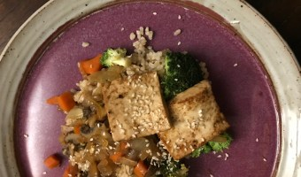Asian Stir Fry with Tofu