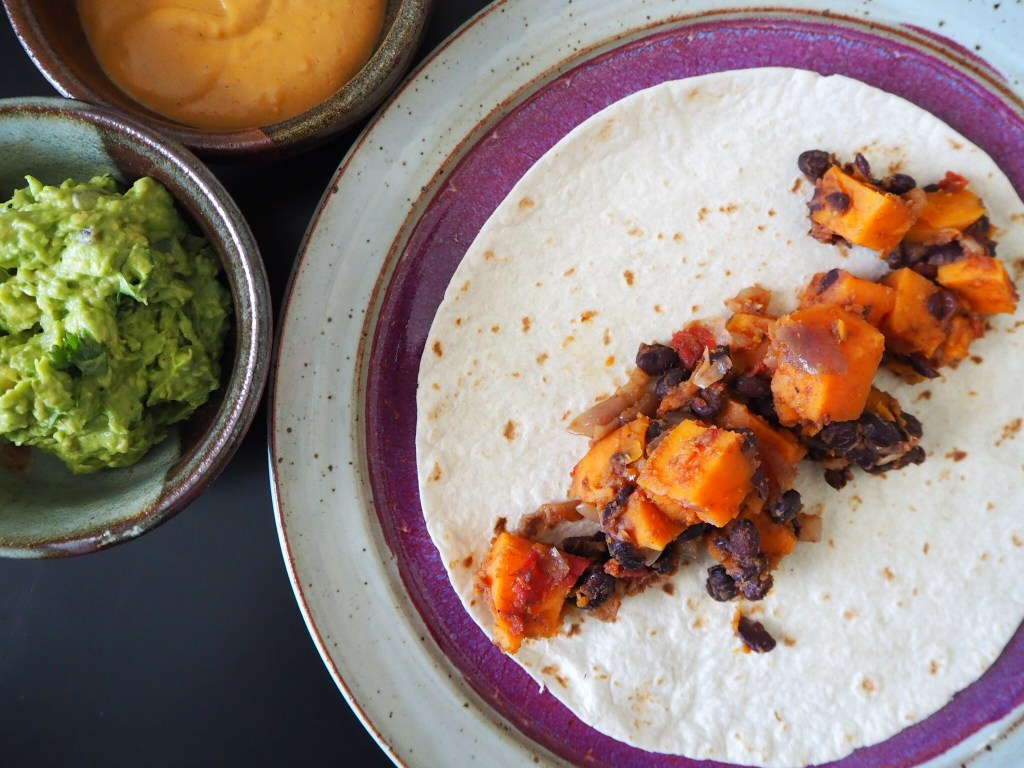 9 Working From Home Tips + Black Bean Sweet Potato Tacos