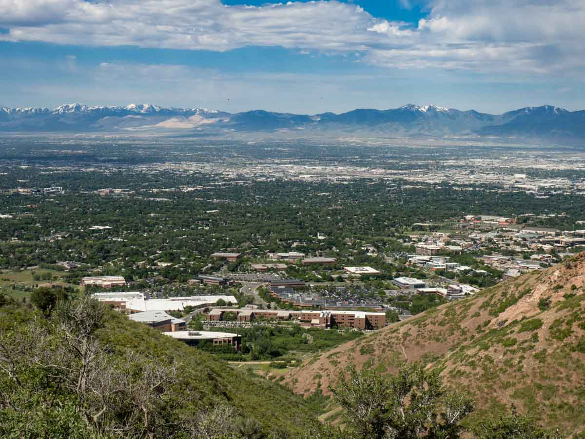 View Of Salt Lake From The Living Room Trail Part 44