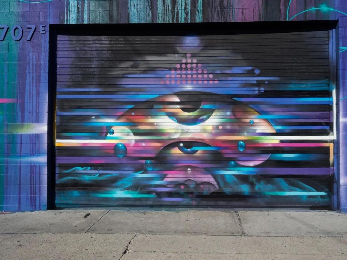 Los Angeles Street Art 4th Street