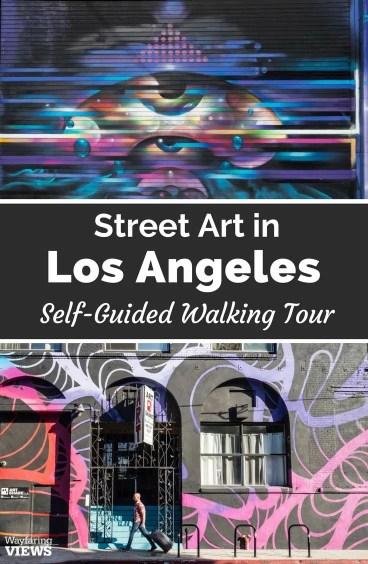 Downtown Los Angeles Street Art tour