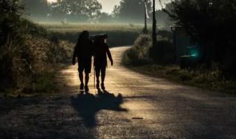 Friends on the Camino de Santiago Morning
