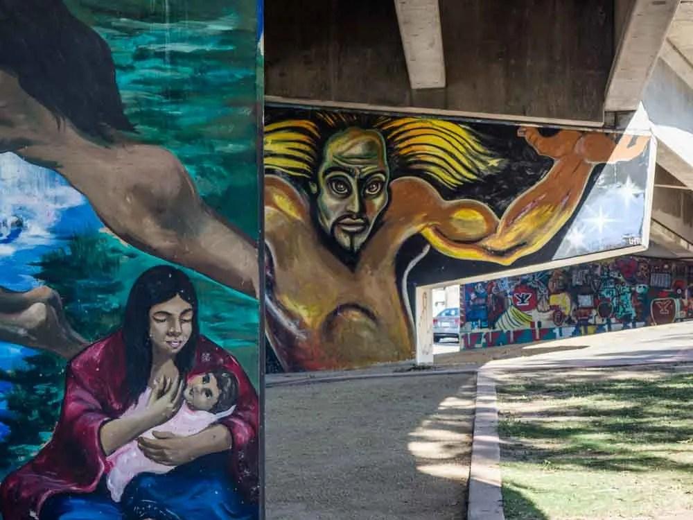 Chicano Park Underpass