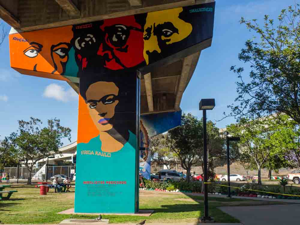 San Diego Chicano Park Murals Frida