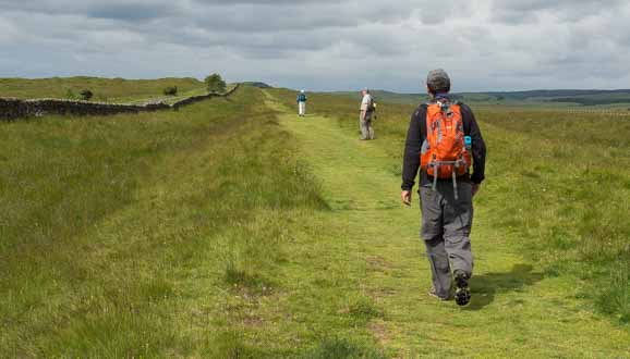 Hiking Hadrian's Wall Path