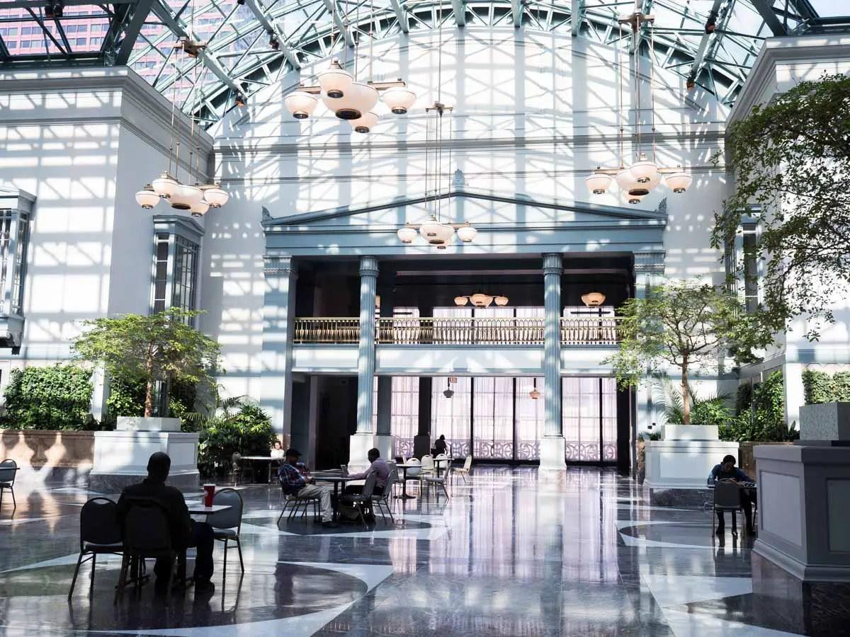 Chicago Public Library Atrium Museums in Chicago