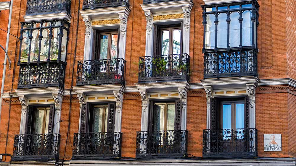 Building Facade in Madrid