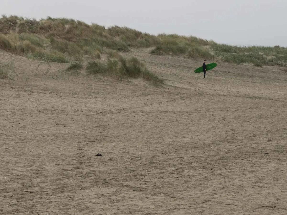 Ocean Beach- surfer