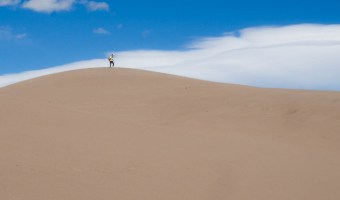 Austerity and Incongruity: the Sand Dunes of Colorado, Utah and California