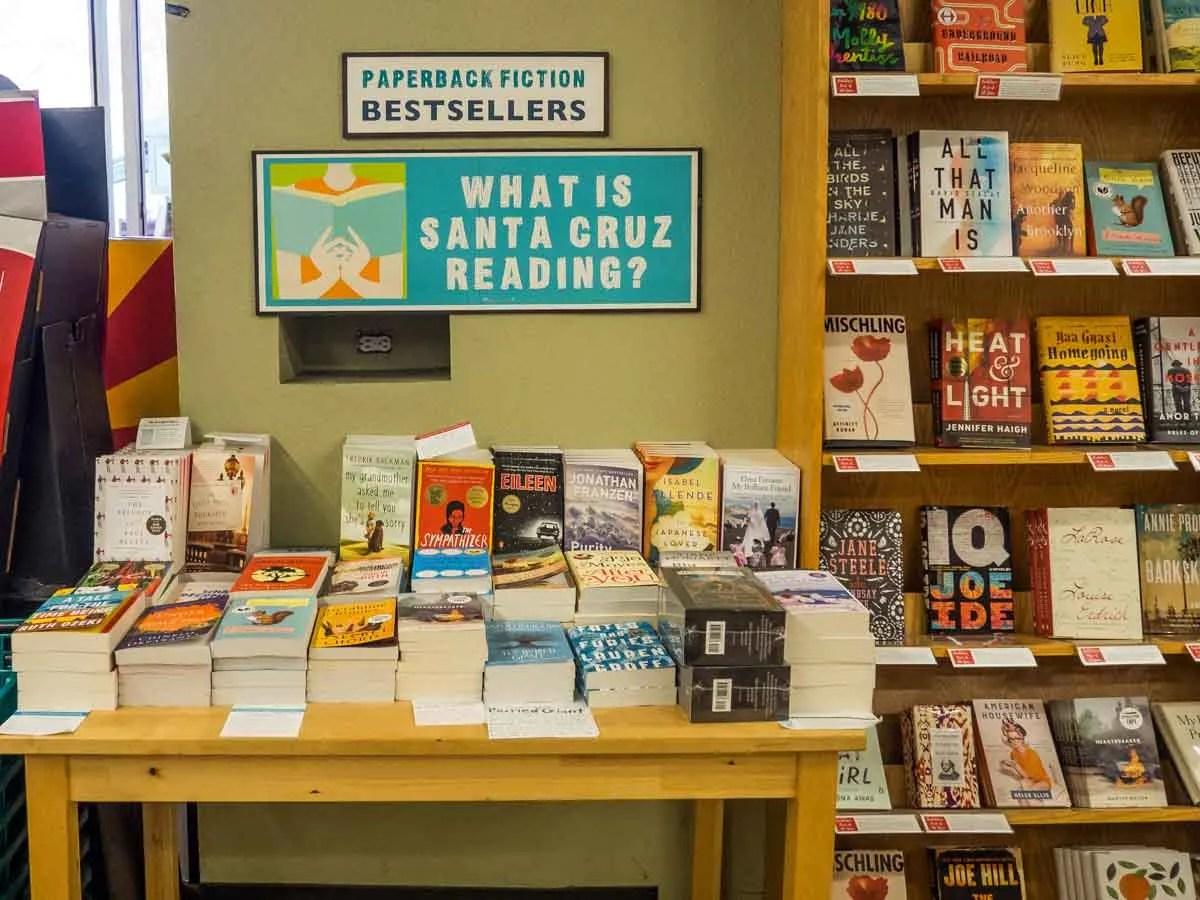Bookshop Santa Cruz- visit Santa Cruz