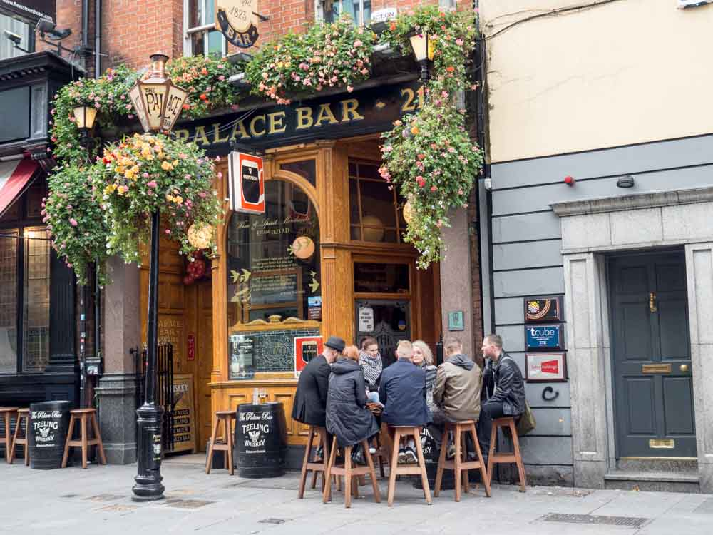 Ireland Dublin Palace Bar literary pub crawl
