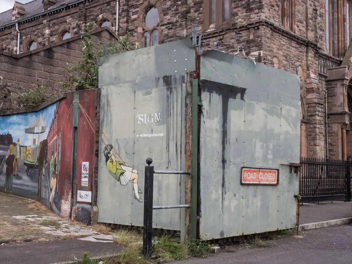 Belfast Murals -Peace Wall Gates