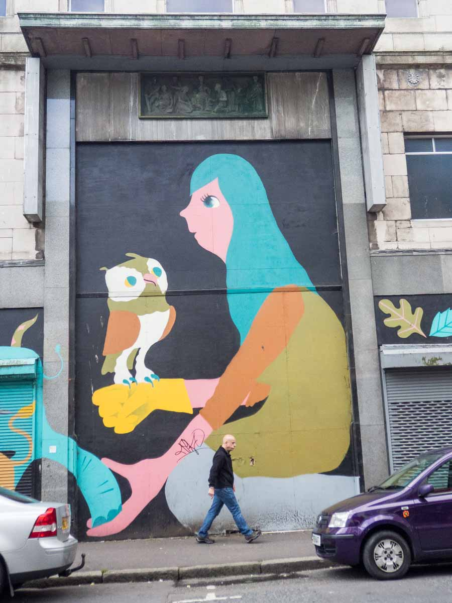 Belfast Street Art- Owl
