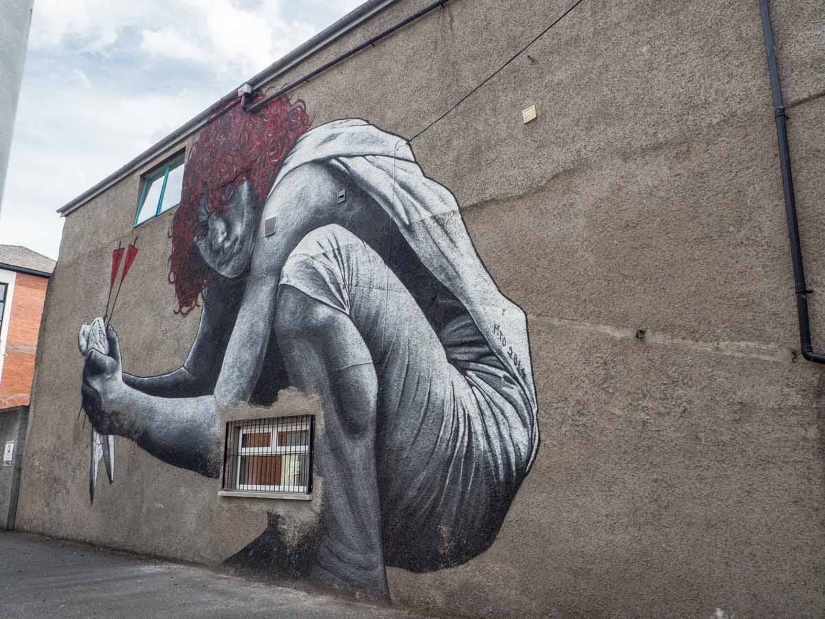 Belfast Street Art Dead Dove