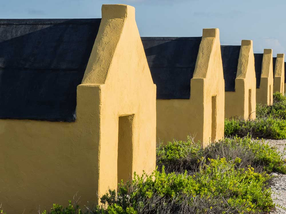 Things to do in Bonaire: See the slave huts