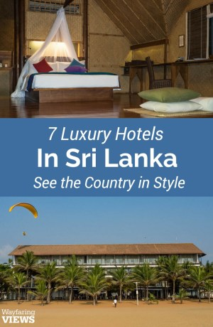 Staying at these seven best hotels in Sri Lanka will send you on a luxurious circuit of the country's finest wildilfe and cultural treasures.