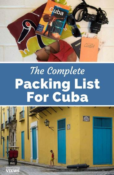 Cuba Packing List & What to take to Cuba