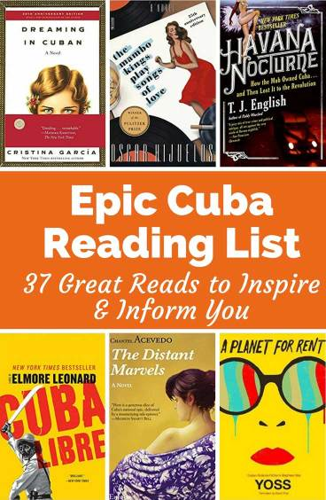This is an epic reading list of 38 books about Cuba. Reading these books on Cuba will inform you and inspire you to visit there.