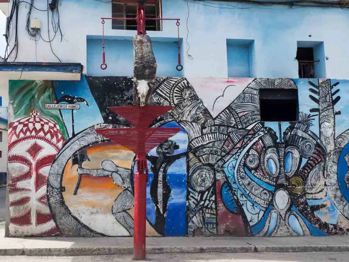 Callejon de Hamel street