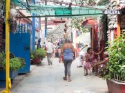 Callejon de Hamel alley view