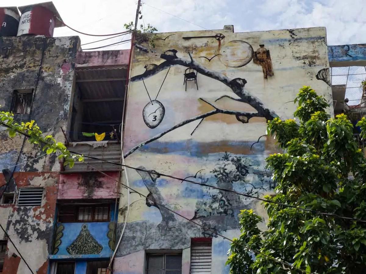 Havana Callejon de_Hamel Havana Street Art
