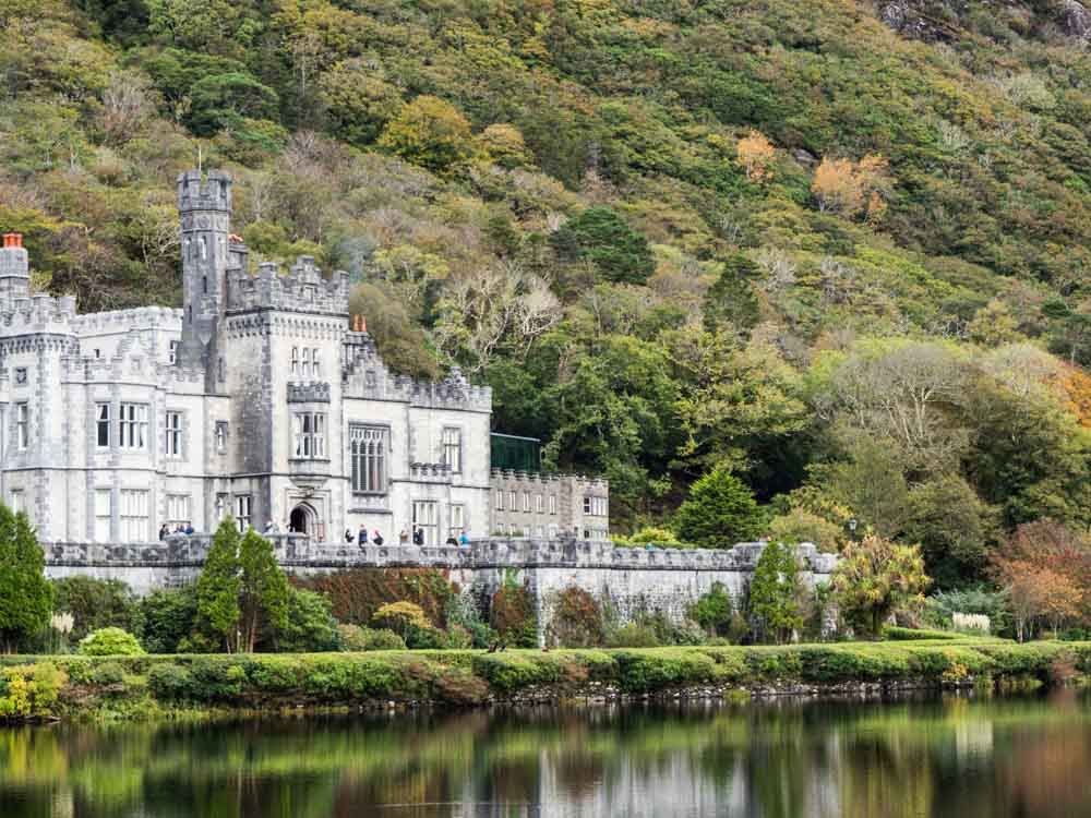 Ireland Connemara Region Kylemore Abbey