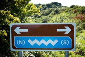 Ireland Wild Atlantic Way Road Sign