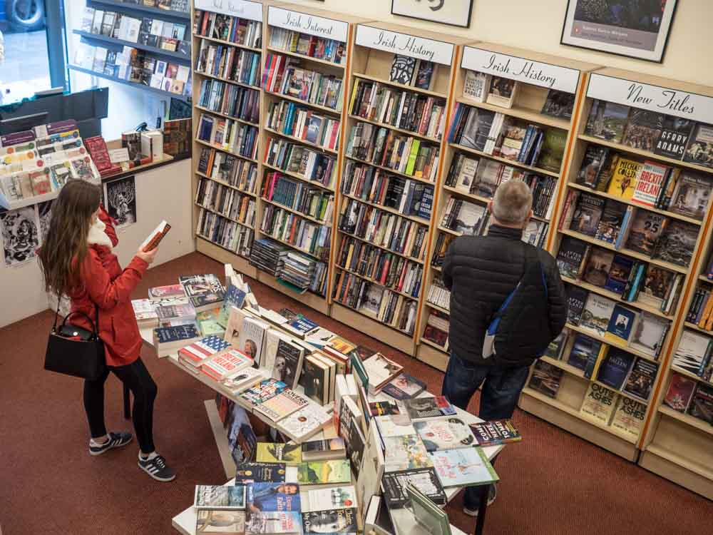 Bookshops in Dublin: Books Upstairs