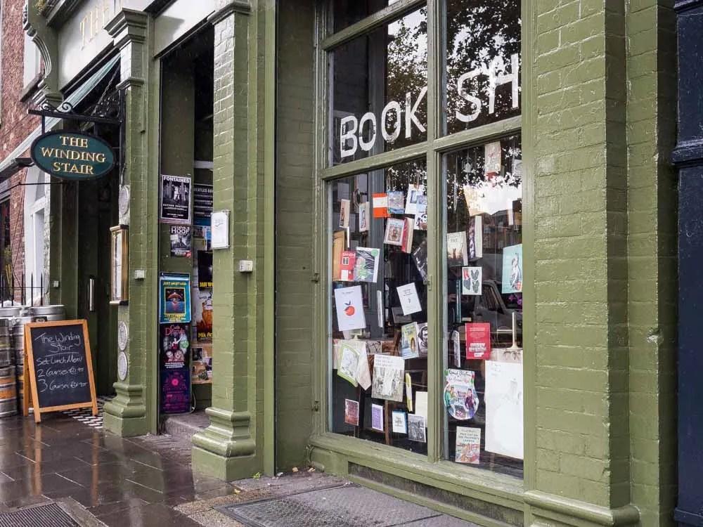 Winding Stair Bookshop Dublin