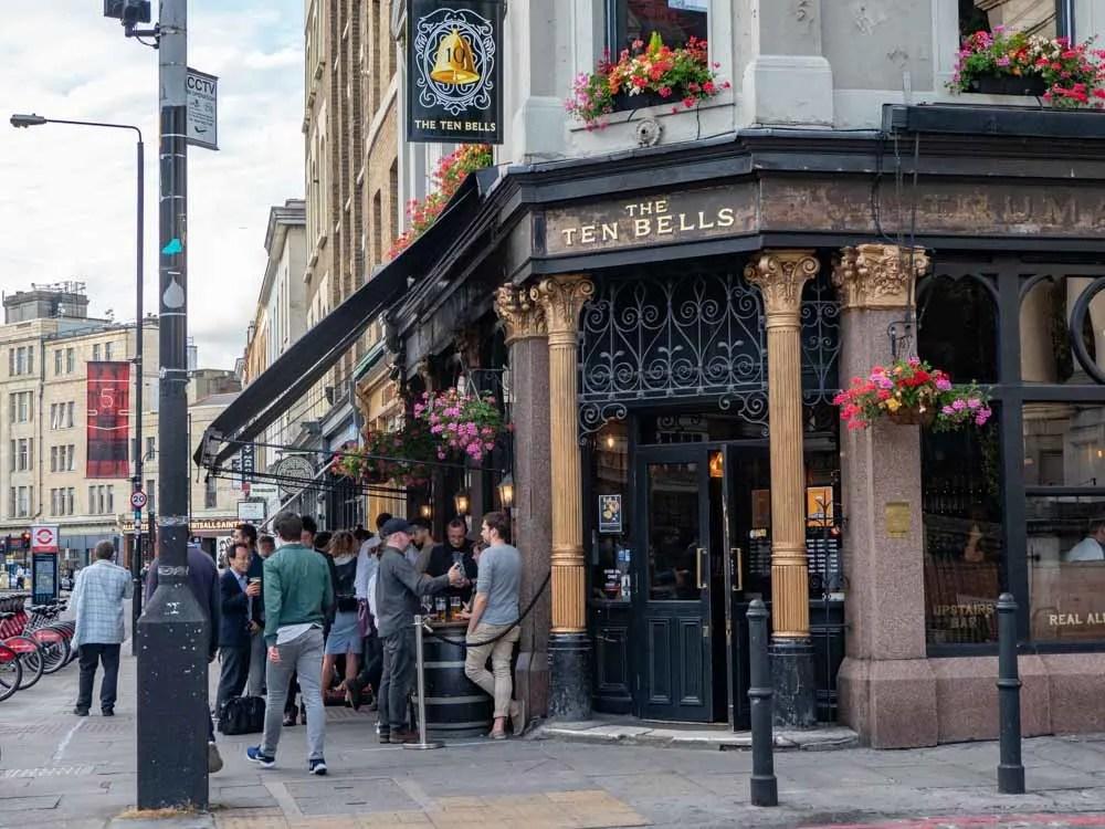 Shoreditch London Seven Bells Pub