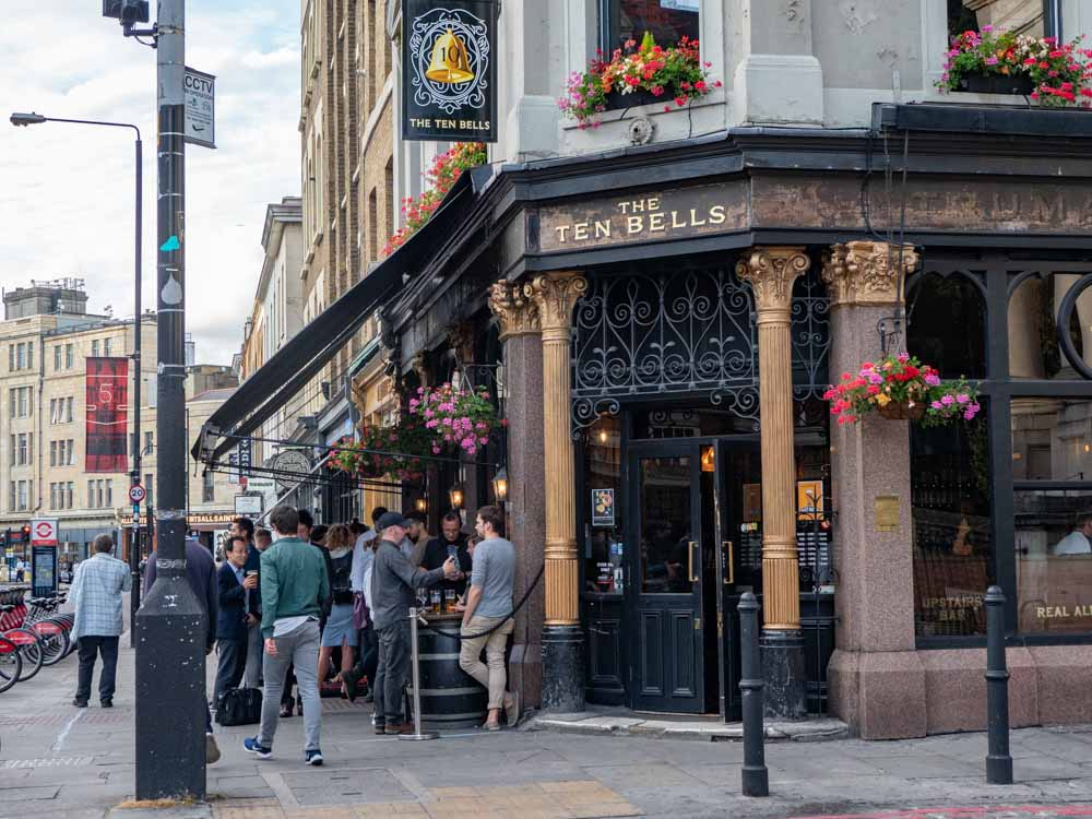 Shoreditch London Seven Bells Pub