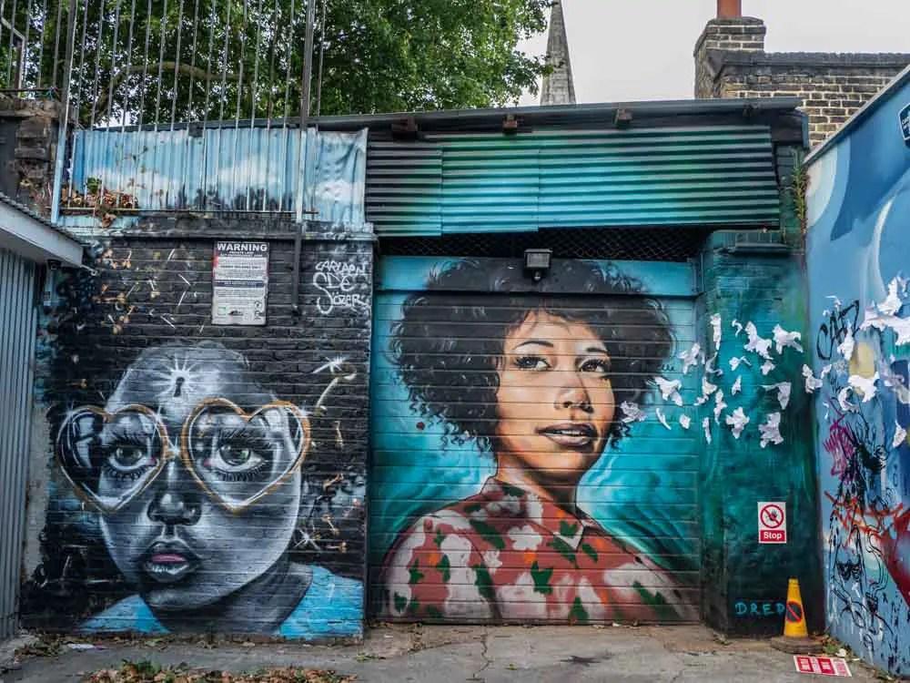 Brick Lane streetart by dreph