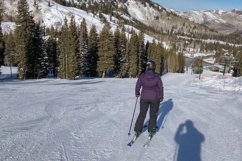 Utah Brighton skiing packing list