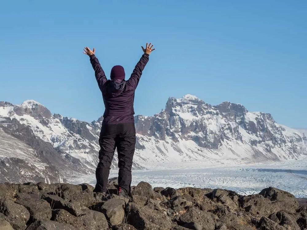 Iceland Oraefajokull Glacier Warrior