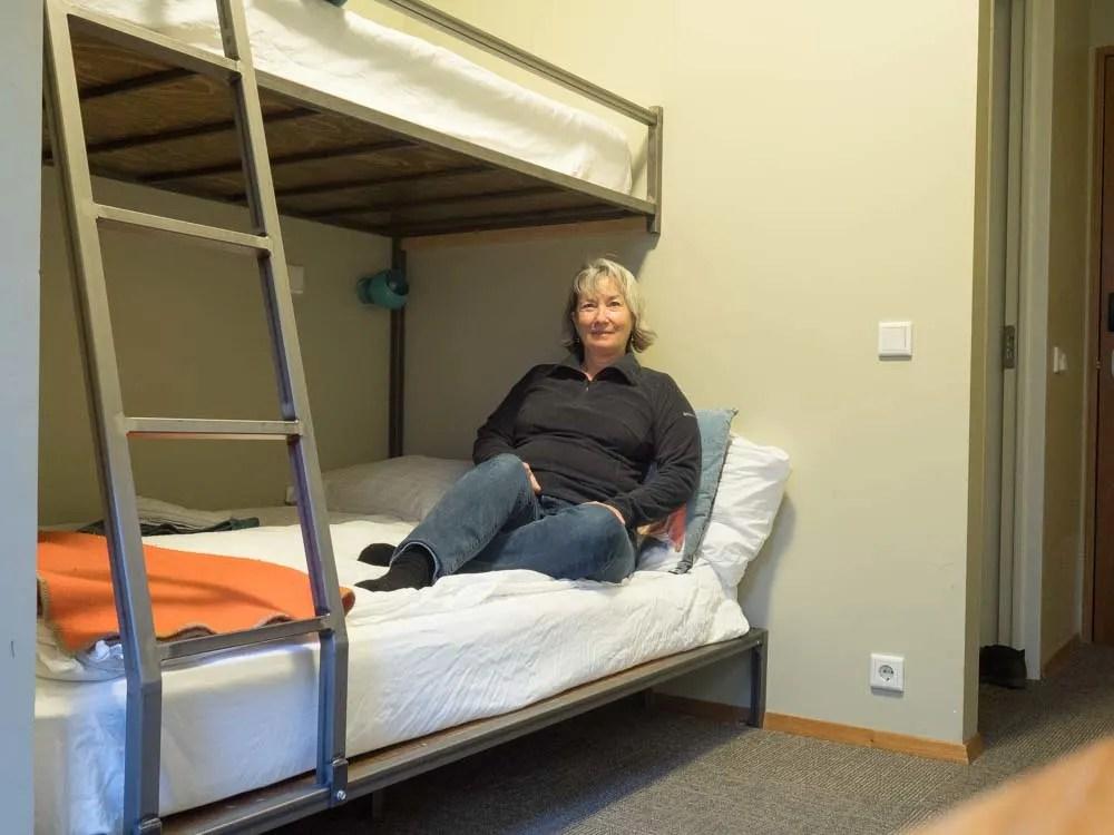 Loft Hostel in Reykjavik double room