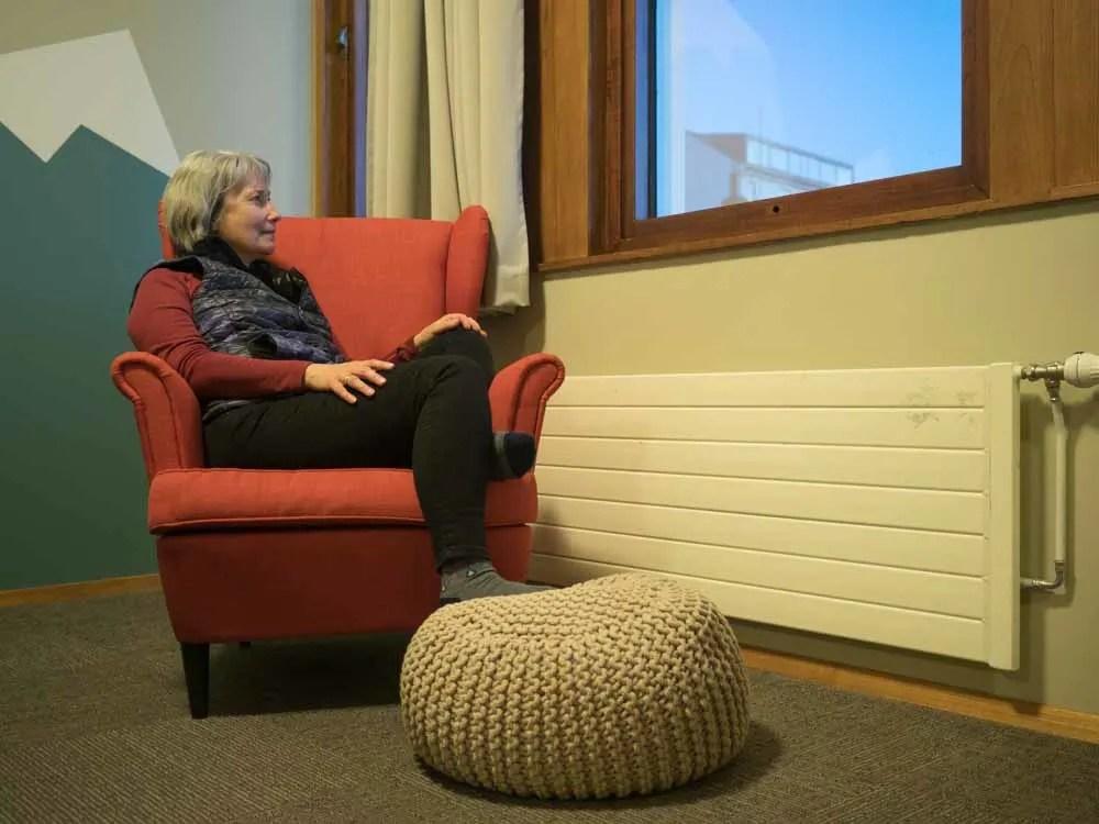 Loft Hostel Orange chair