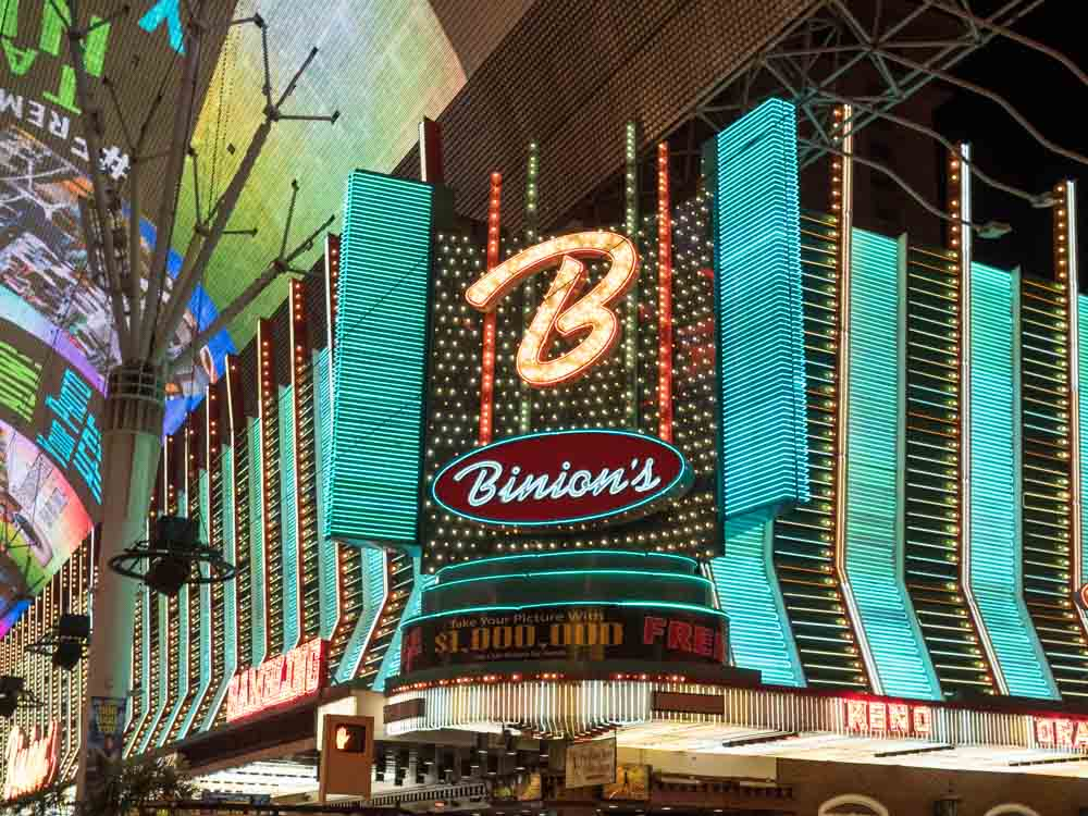 Things to do in Downtown Las Vegas Binnions Hotel
