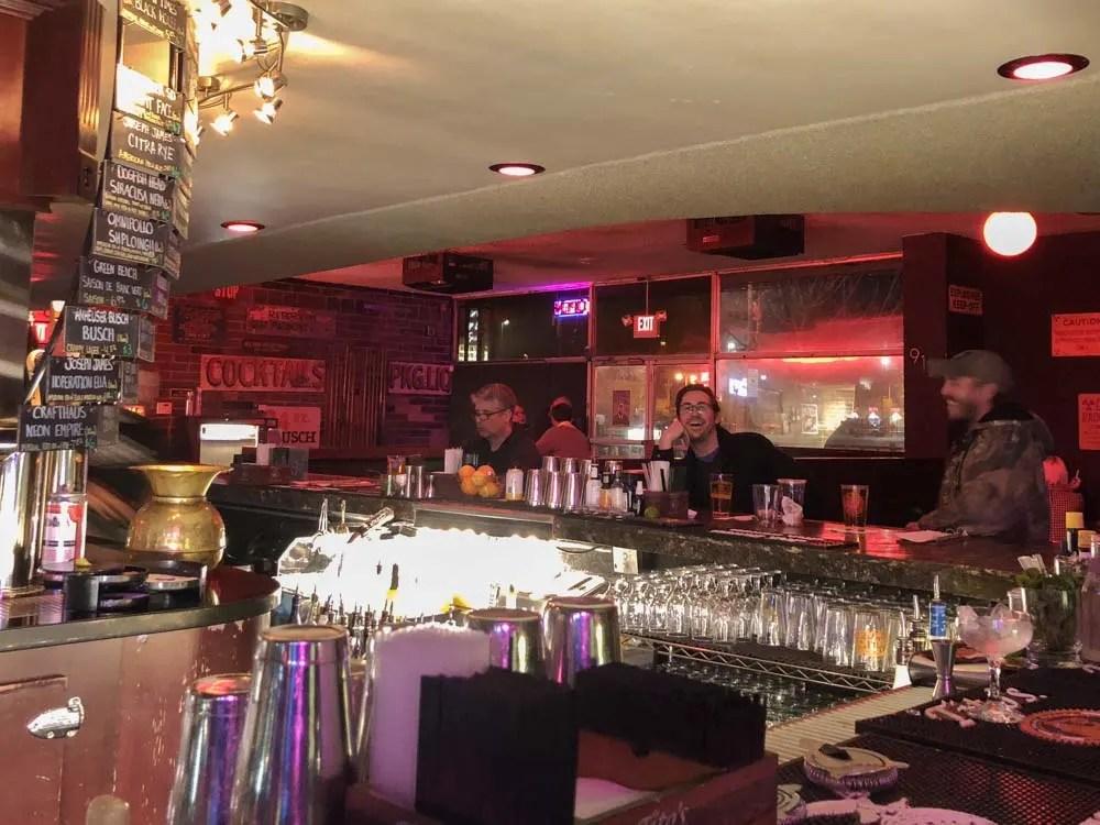 What to do downtown Las Vegas Atomic Liquors