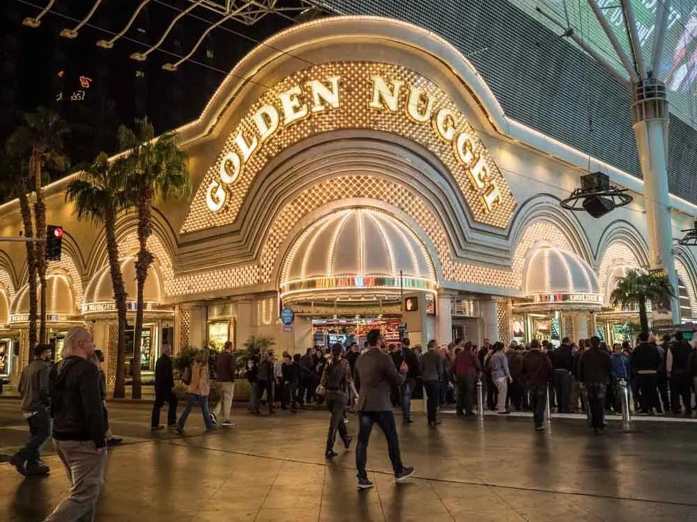 Fremont Street Las Vegas Golden Nugget
