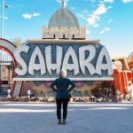 Best things to do in downtown Las Vegas: Sahara Sign