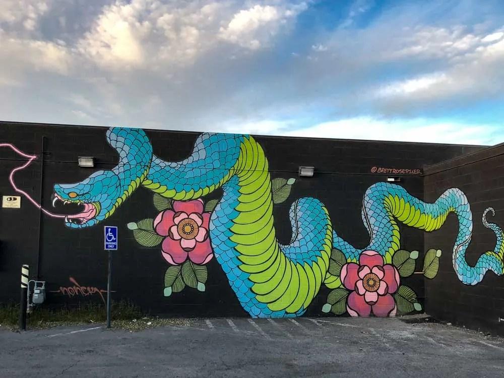 Las Vegas Street Art dragon