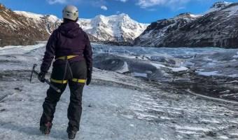 Iceland Glacier Hike Solo Travel
