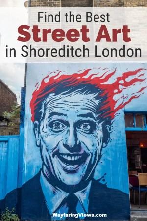 Shoreditch Brick Lane street art tour