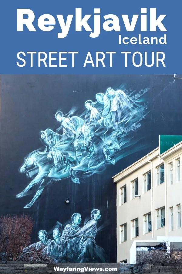 Street art in Reykjavik- finding murals