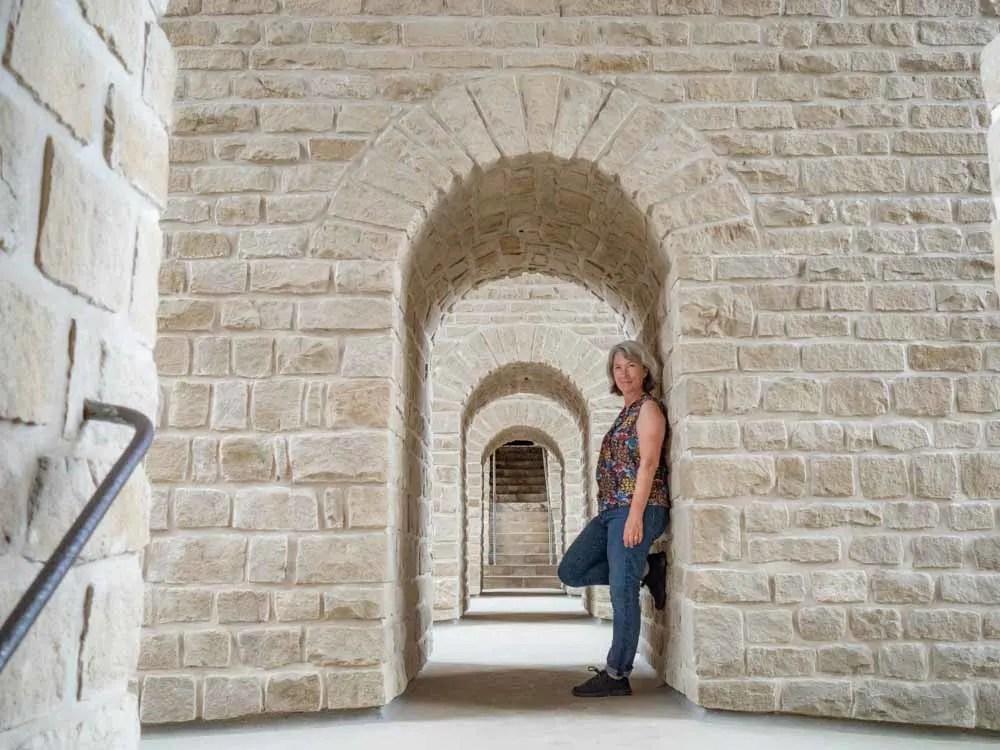 Luxembourg Vianden Castle Archways