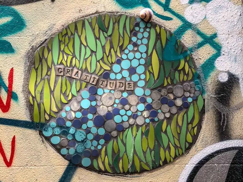 Bristol Leonard Lane Mosaic street art