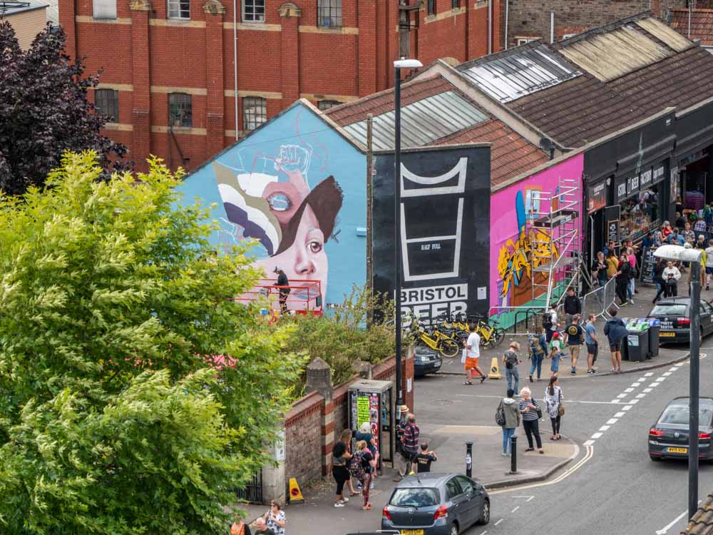 Bristol Upfest 2018 from above